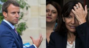 Anne Hidalgo en colère contre Emmanuel Macron !